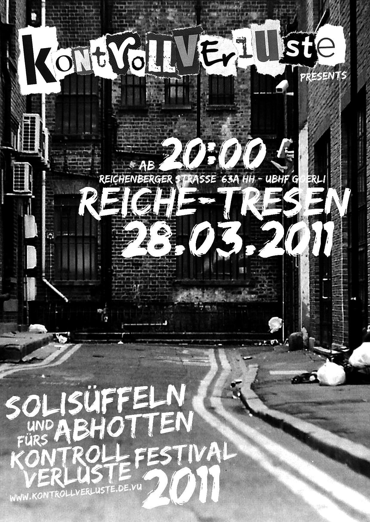 Soli-Tresen Erreichbar KV 2011