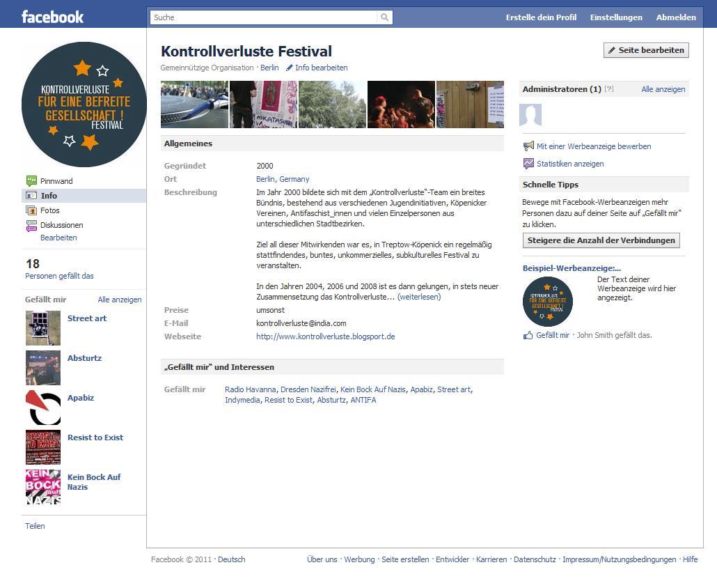 KV bei Facebook